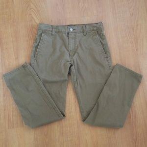 Excellent! Levi Strauss brown pants - 30L 30W